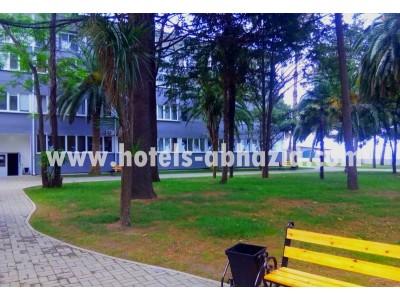 Жоэквара Абхазия| территория пансионата