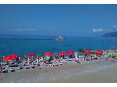Жоэквара Абхазия| пляж и анимация
